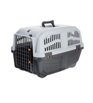 باکس حمل سگ و گربه MPSبا درب آهنی مدل اسکودو